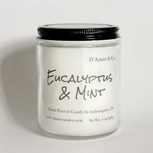 Eucalyptus and peppermint with a hint of lemongrass